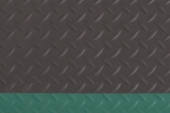 Diamond Tread Black Green