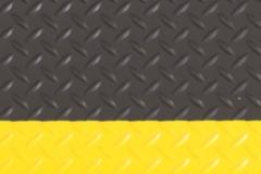 Diamond Tread Black Yellow